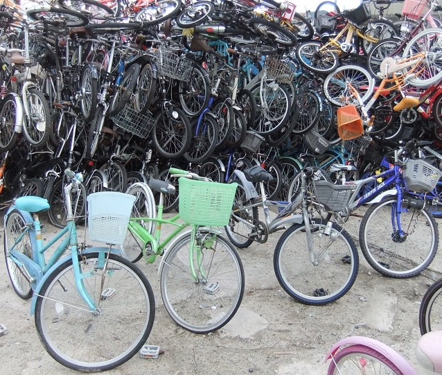 Japanese 24 inch city/mtb used bicycles/children bicycles