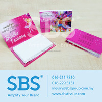 Gold Type Facial Wallet Tissue Paper Pack Printing Service Malaysia