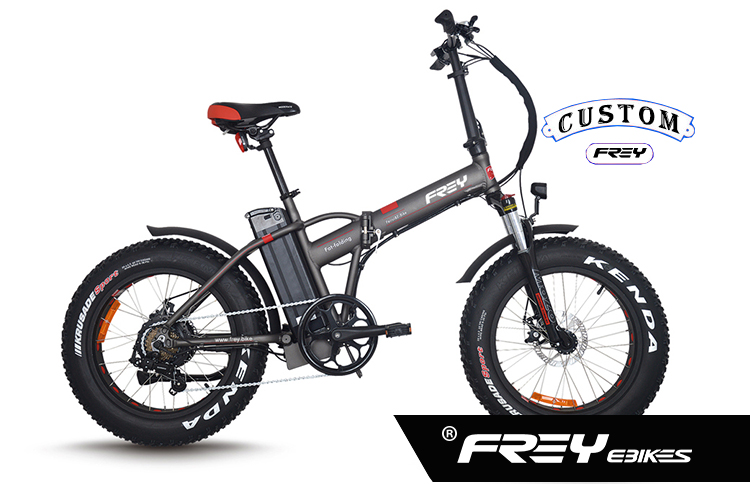 "20"" foldable electric fat bike / fat tire electric folding bike hot selling 2017"