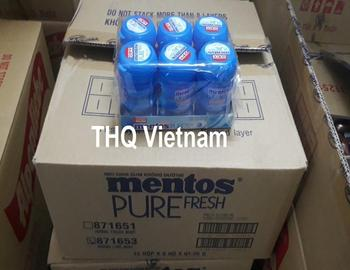 [THQ VN] MENTOS pure fresh limt & green tea_ cheap wholesale price