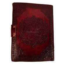 Leather diary with lock Handmade diary