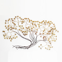 Best Wall Decor Item and Home Decor Wall Hanging Item Tree Design Metal Wall Art