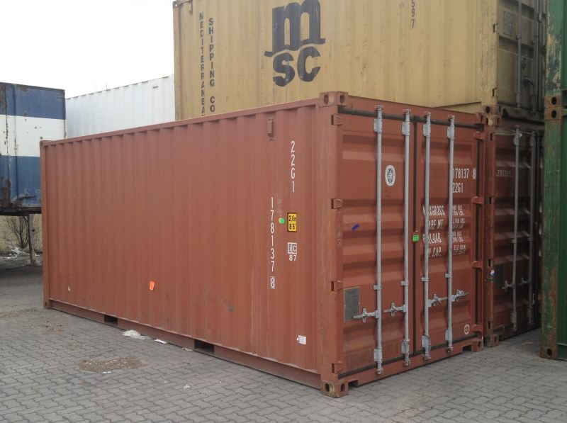 20 FEET ISO SHIPPING CONTAINER