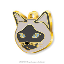 Siamese Cat Pet Tag