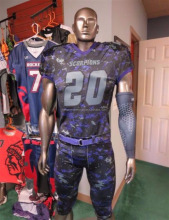Latest Designs Sublimation American Football Uniforms / High Quality Football Uniforms / Sublimated Football Uniforms