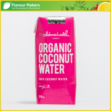 100% Natural Pure Coconut Water in Tetrapack