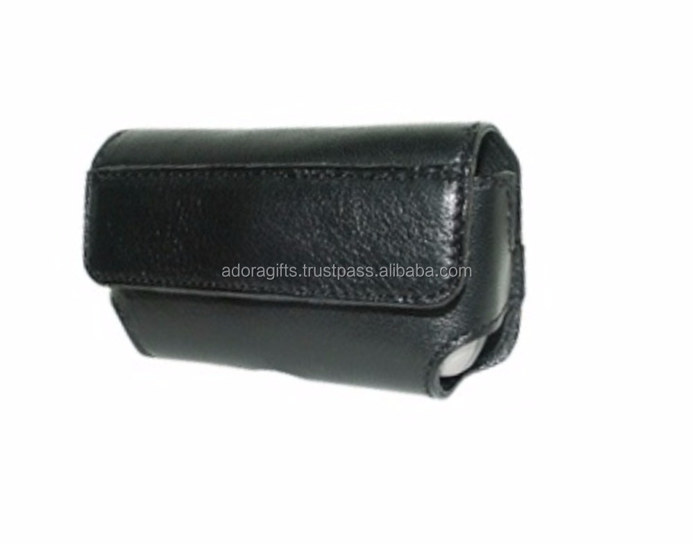 New Arrival Of Black Cell Phone Case / Leather Cell Phone Case / Mobile Phone Cover Wallet