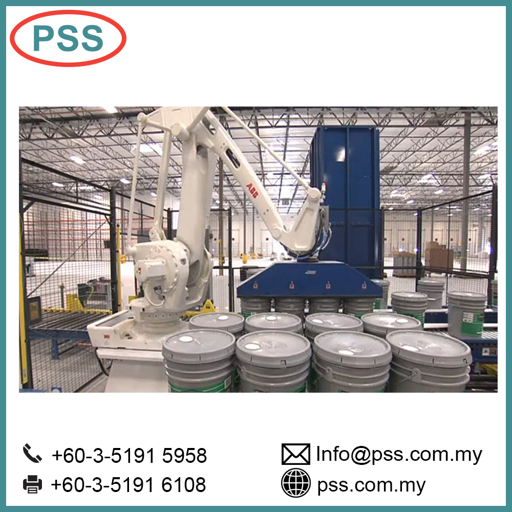 Hot sale Fully automatic Palletizing robot Industrial Machine From Malaysia