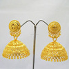 Indian traditional one gram gold jewelry Earrings