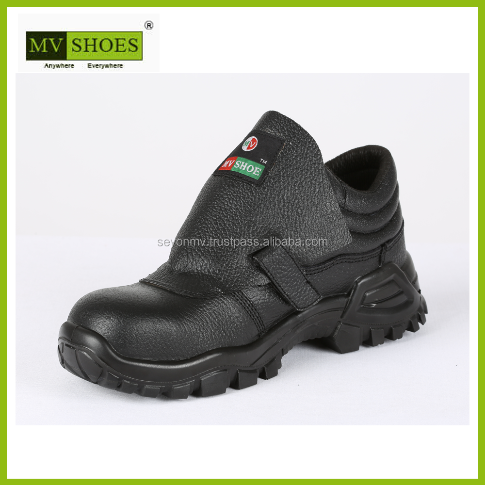 Safe Plus leather safety work shoe