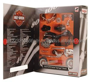 decoration and Easy to use Maisto 1: 18 H - D Model Kit 2005 FLSTCI Die cast minicar with multiple functions