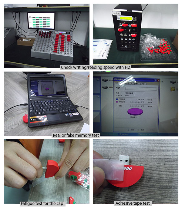 Computer Accessories Quality Inspection in China / USB Flash Drive Pre-Shipment Inspection / Sample QC report