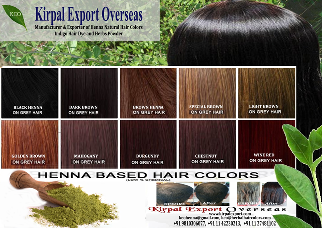 Bulk Hair Care Products - Made by Natural Henna Powder