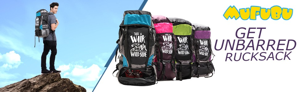 4bd3b297a557 Get Unbarred Adventure Stylish Series 55 Ltr Large Capacity Bag For ...
