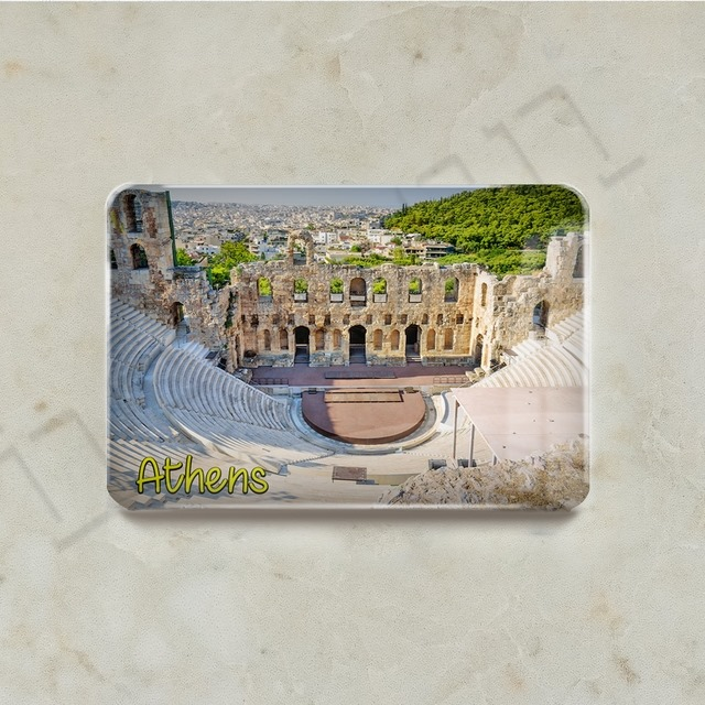 Fridge Magnet - Greece Athens Series - M01GREATH-04