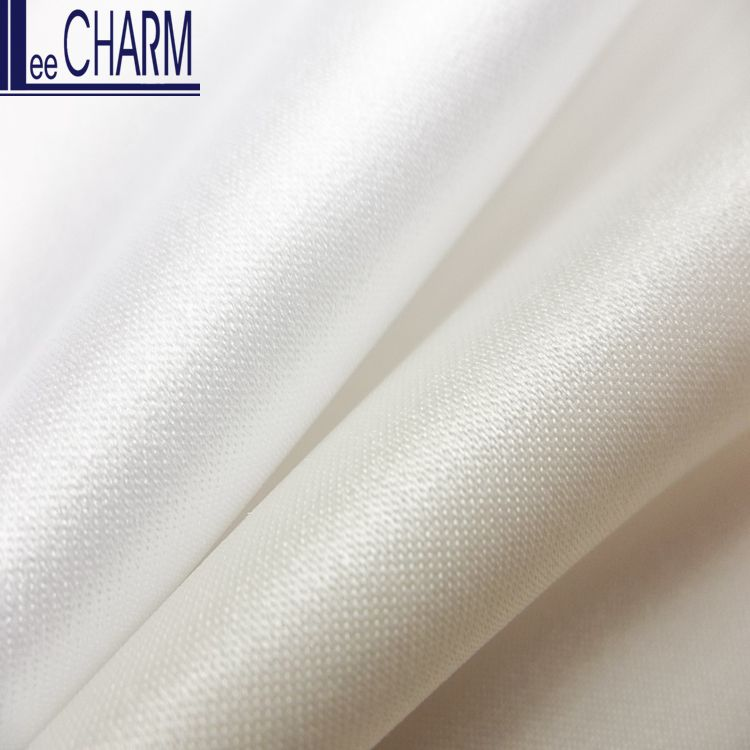 CS630 Wholesale Taiwan White Bridal Gown Dress Fabric For Bridal