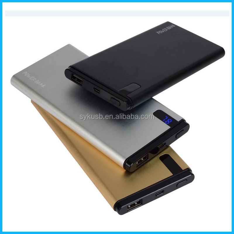 New Arrival Customized Aluminum Alloy Gift Power Bank with Factory Price