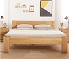 solid oak bed latest solid wooden bed from Vietnam