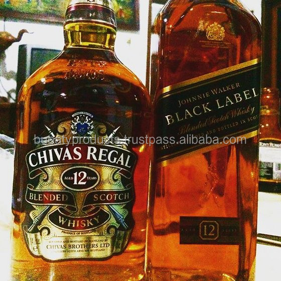 Quality Jack Daniels, Black Label, Chivas Regal