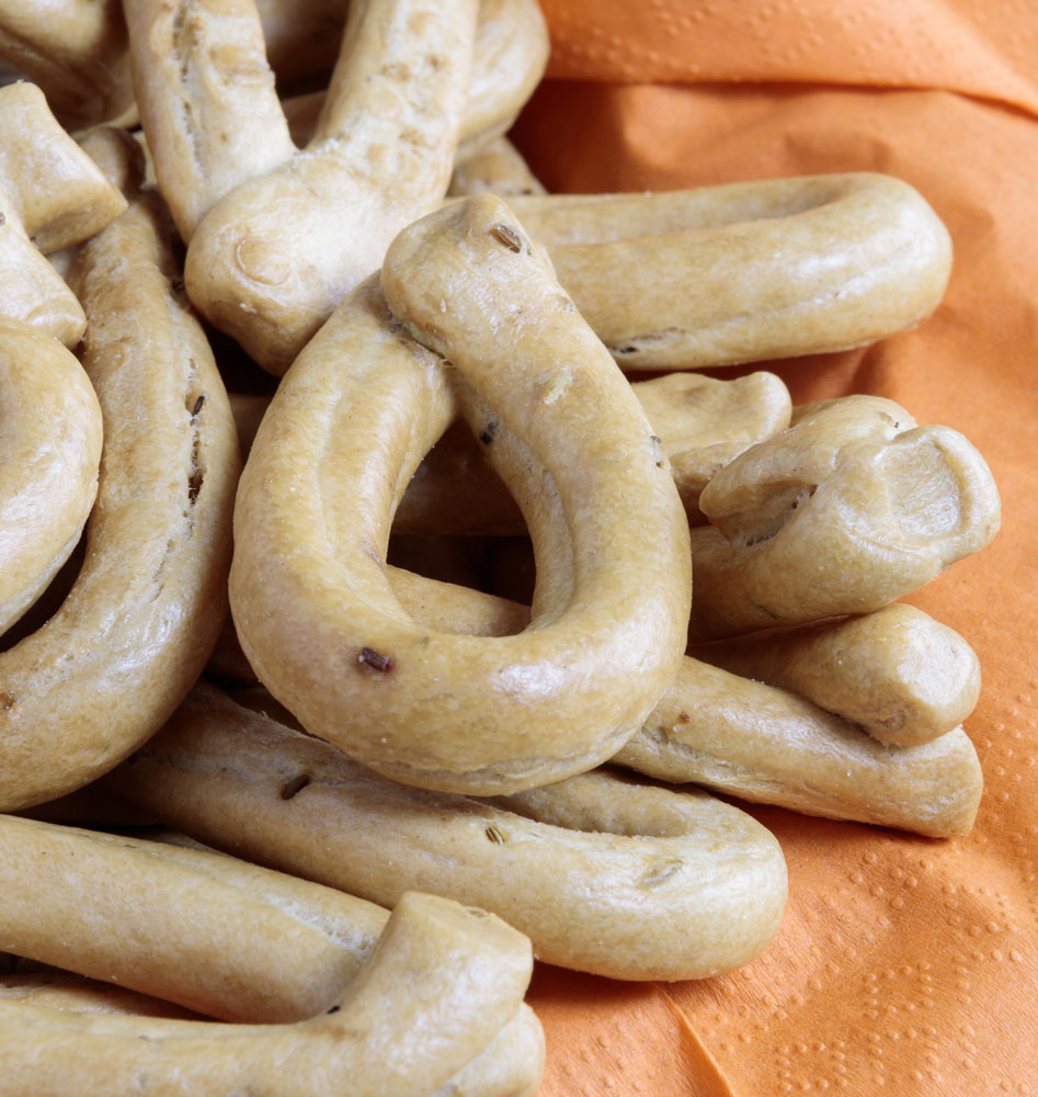TARALLI Typical Italian Baked Bread to be used for starters, sneaks and simply as bread - 500 g