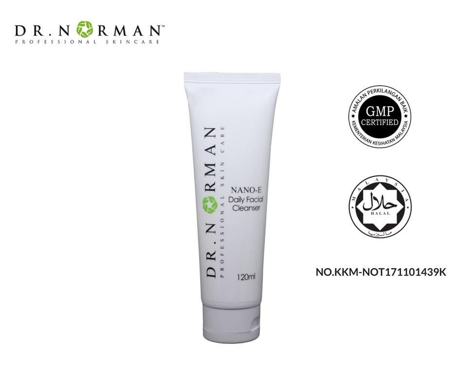 NEW PRODUCT NANO E DAILY FACED CLEANSER MADE FROM MALAYSIA