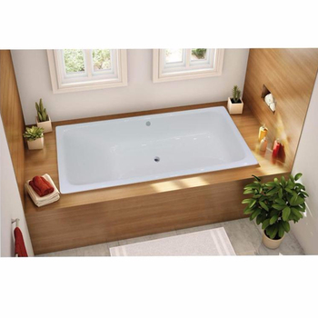 High Quality Project Style Cast Iron Bathtub for Hotel or Project Embedded tub