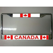 Canada Custom Double Panel License Plate Frame