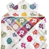 6 layer gauze Hooded Baby Swaddle Blanket. Made in Japan Cotton 100% Baby Blanket Animal design