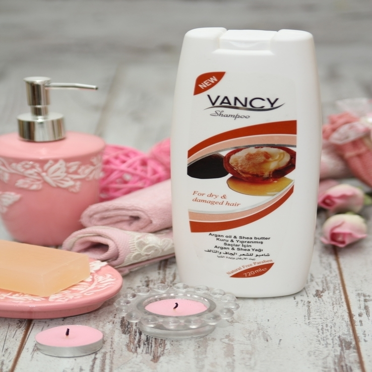 VANCY Shampoo with Argan Oil & Shea Butter