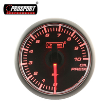 March Expo Black Face Electrical Racing Psi Car Oil Press Gauge