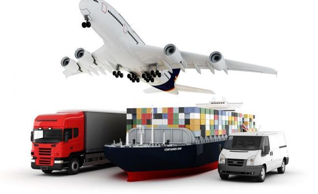 Freight forwarder ship air cargo door to door delivery service