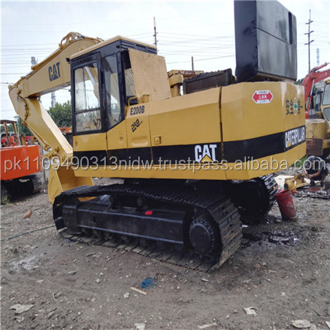 cheap price cat used excavator, used cat e200b japan excavator for sale