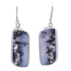 Stunning 925 Sterling Silver Dendrite Opal Handmade Earrings