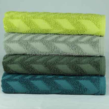 High Quality Best Price %100 Cotton, Embossed Jaquard Towel