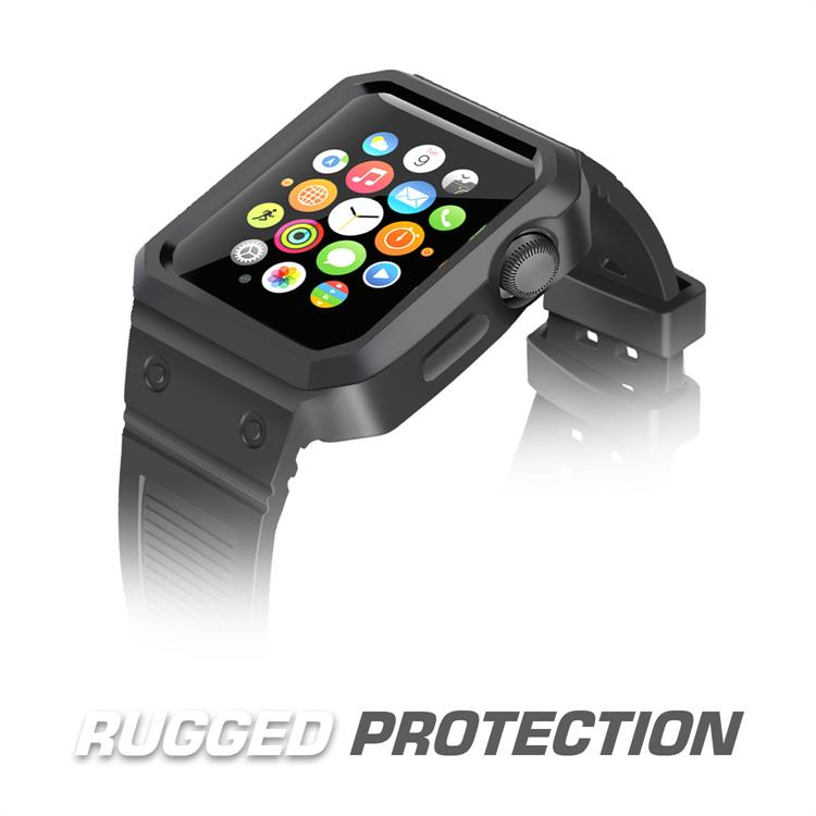 brg New rubber wrist strap, for apple watch band silicone