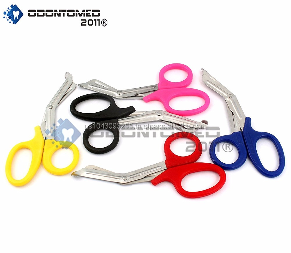 NEW SET OF 5 PCS PARAMEDIC UTILITY BANDAGE TRAUMA EMT EMS SHEARS SCISSORS 7.25 INCH STAINLESS STEEL, QUALITY SHEARS