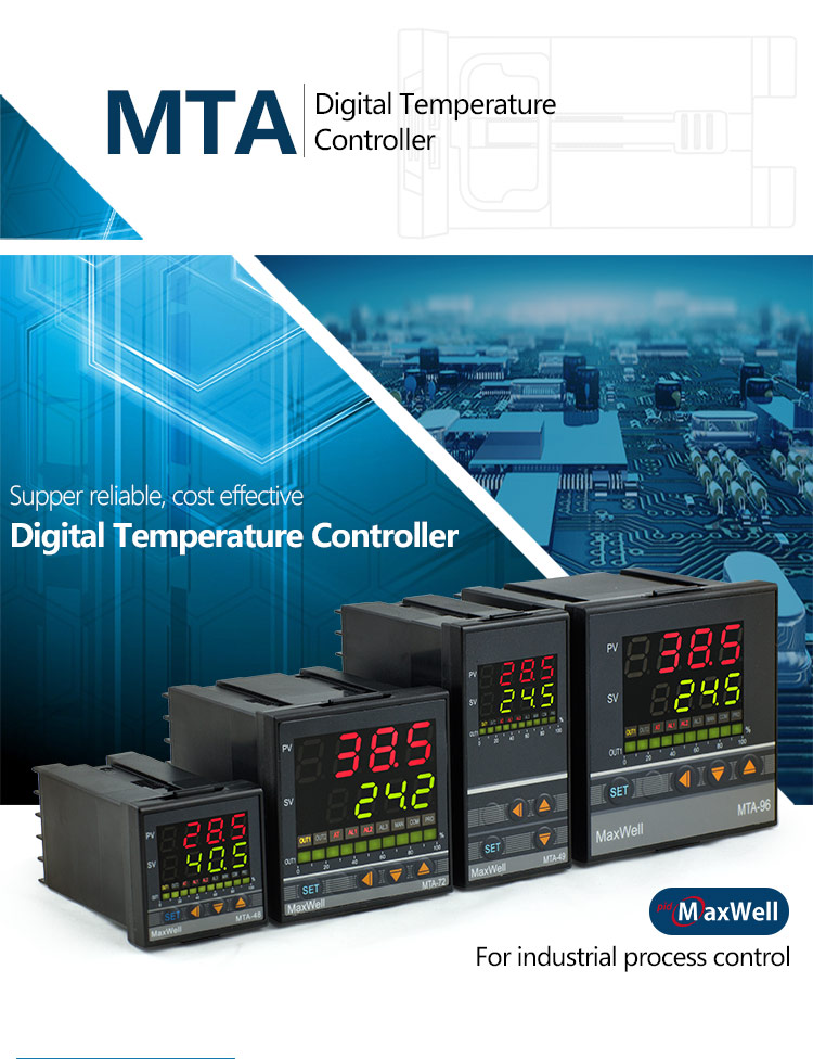 96mm*96mm 0-10V 4-20mA output PID temperature controller
