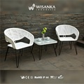 Gourmet Terrace Chair-White Color ; Suitable to put at your Terrace Chair