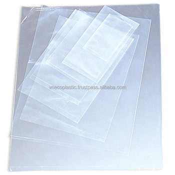 Hot selling Clear LDPE plastic packaging bag for food plastic bag