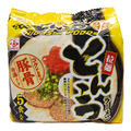 japan noodle / Famous Japanese Tonkotsu Pork Bone Ramen Noodles 79g x 5 servings