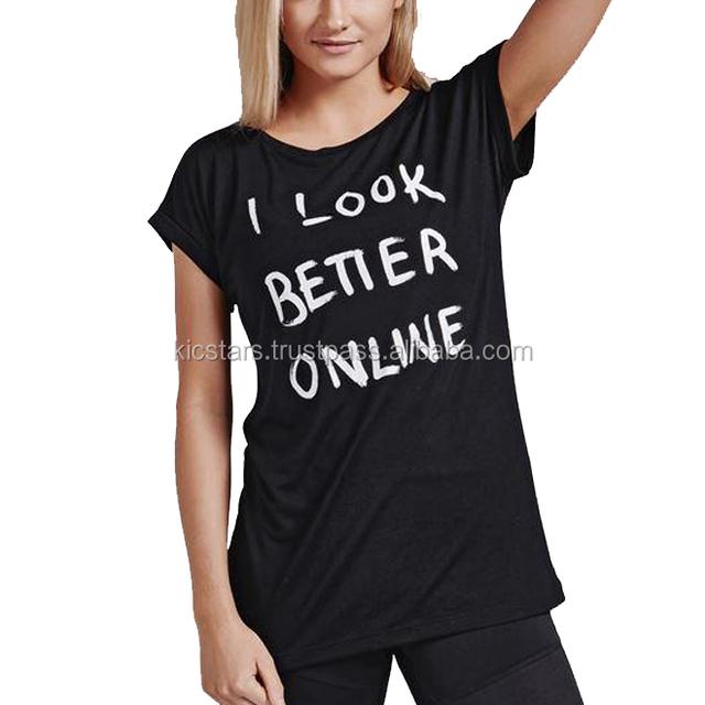 Ladies Custom Printed T-Shirt