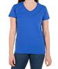 Organic cotton t shirt women with V-neck regular fit casual t shirt