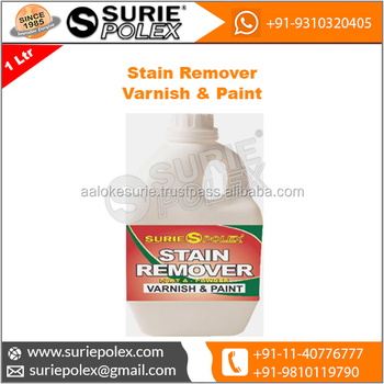 Stain Remover Varnish