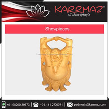 Hot Selling Cheap Wooden Carved Laughing Standing Buddha for sale