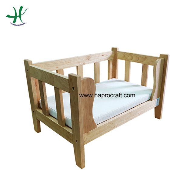 Cheap wood dog house dog cage pet house in Vietnam