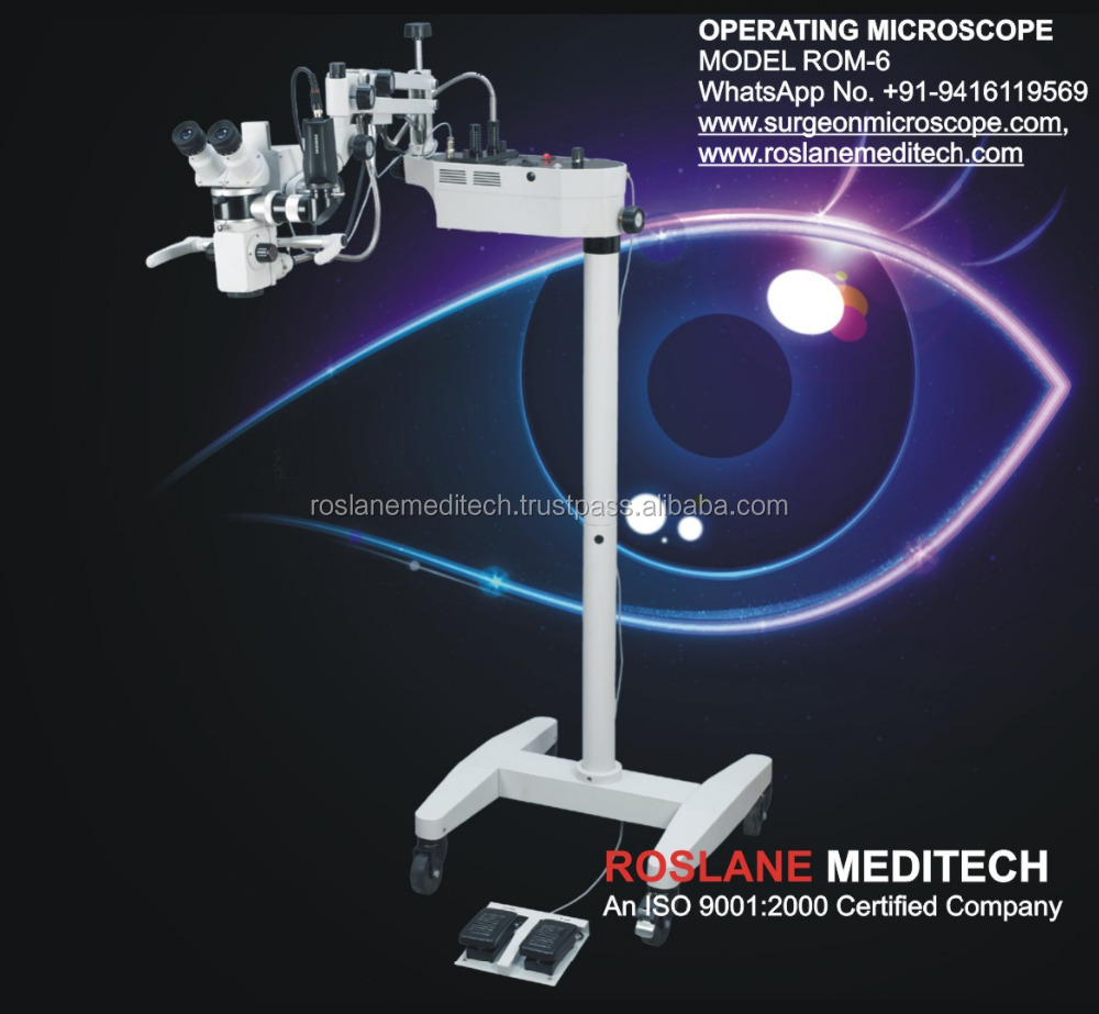 ROM-6 Ophthalmology Operation Microscope