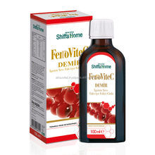 Iron Syrup FERROVITEC Ayurvedic Oral Liquid Herbal Syrup Drinks Growth Syrup for Children Vitamin Supplement Jarabe black carrot