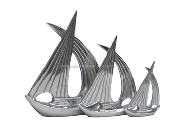 Aluminium decorative Boat