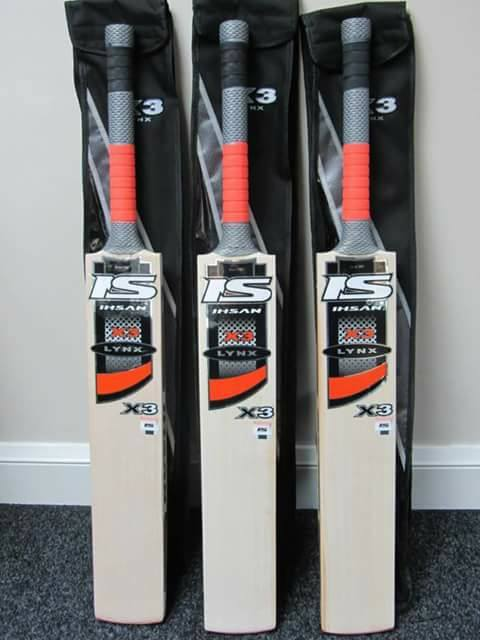 Pakistan Ihsan Sports X3 cricket bats available in stock