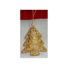 Beaded Embroidered Christmas Hanging Decorative Ornament